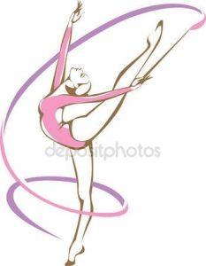 Художественная гимнастика рисунки 014