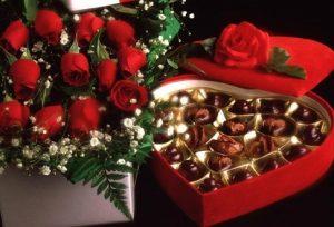 Цветы и конфеты фото 019