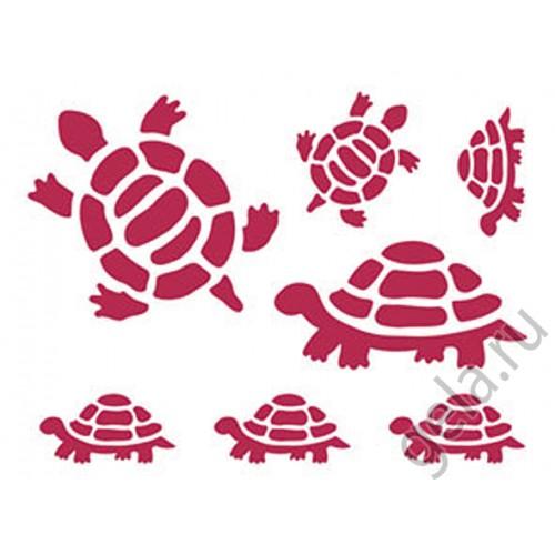 Черепаха трафарет   подборка картинок (3)