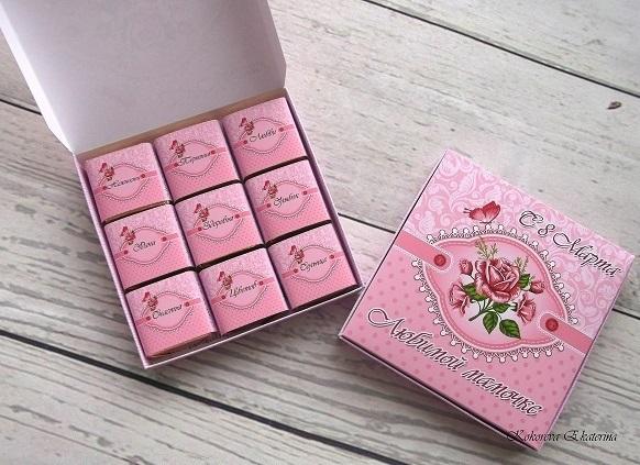 Шаблоны для конфет бабушке 008