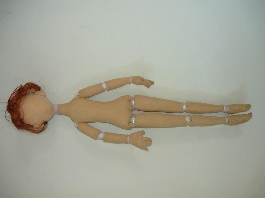 Шарнирные текстильные куклы 003