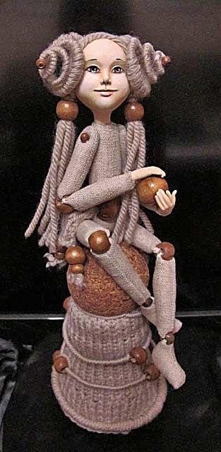Шарнирные текстильные куклы 010