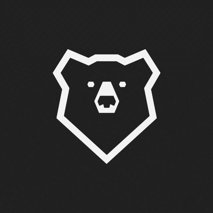 Эмблема медведь 001