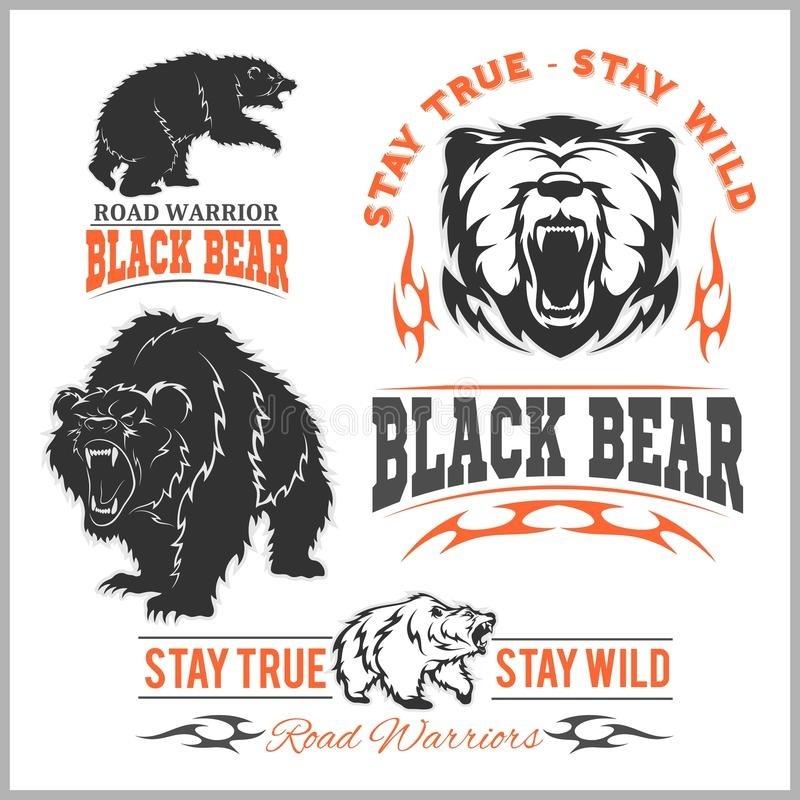 Эмблема медведь 002