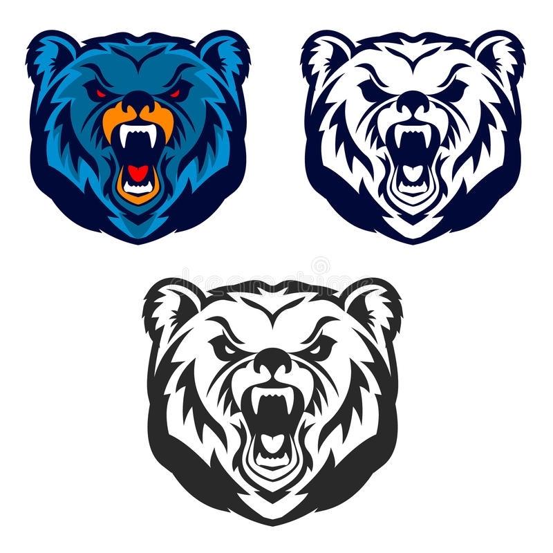 Эмблема медведь 003