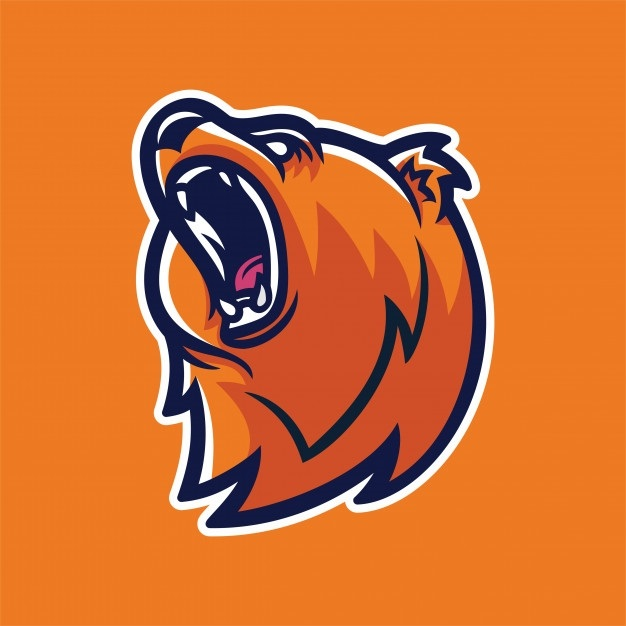 Эмблема медведь 007