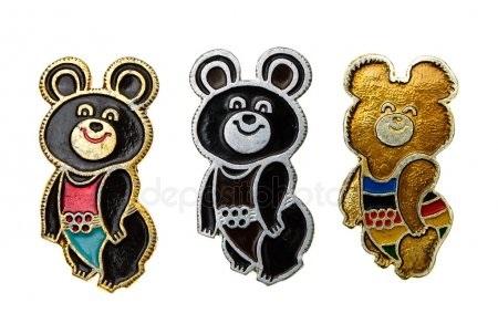 Эмблема медведь 018