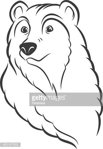Эмблема медведь 022