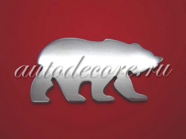 Эмблема медведь 024