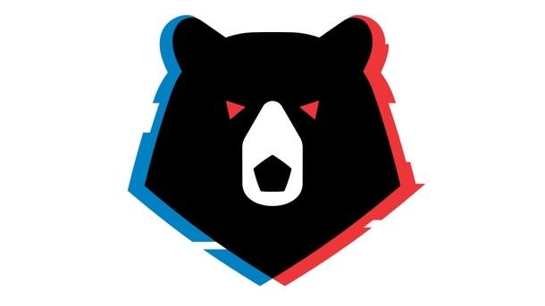 Эмблема медведь 025