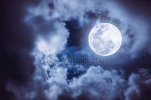 Яркий фон луна 022