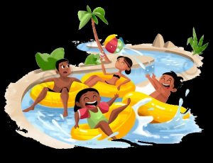 аквапарк рисунки для детей 019