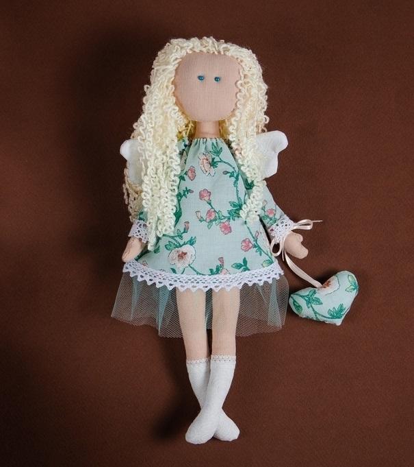 ангел кукла текстильная 001