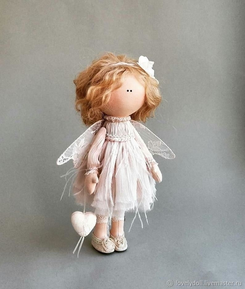 ангел кукла текстильная 002