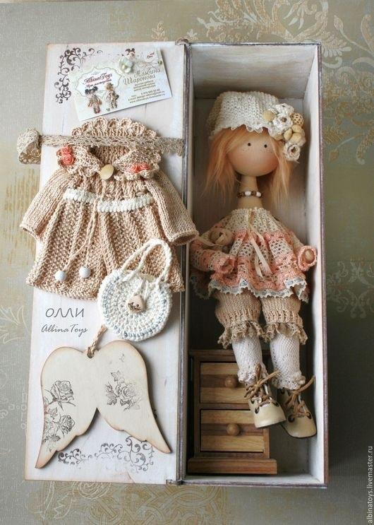 ангел кукла текстильная 003