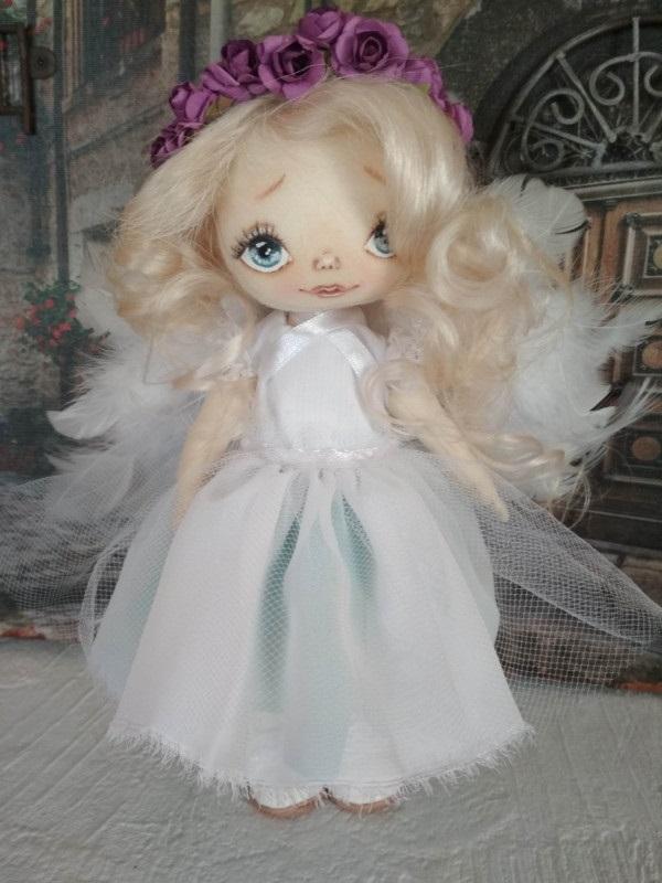 ангел кукла текстильная 004