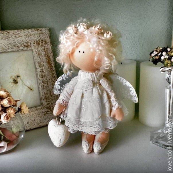 ангел кукла текстильная 005