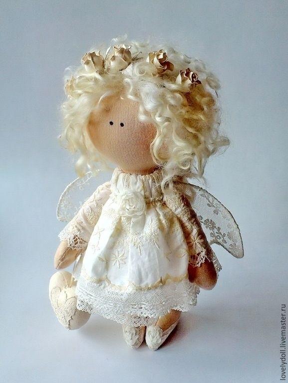 ангел кукла текстильная 006