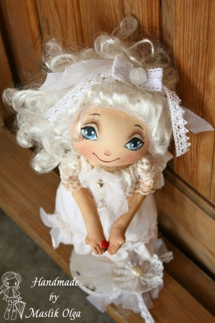 ангел кукла текстильная 008