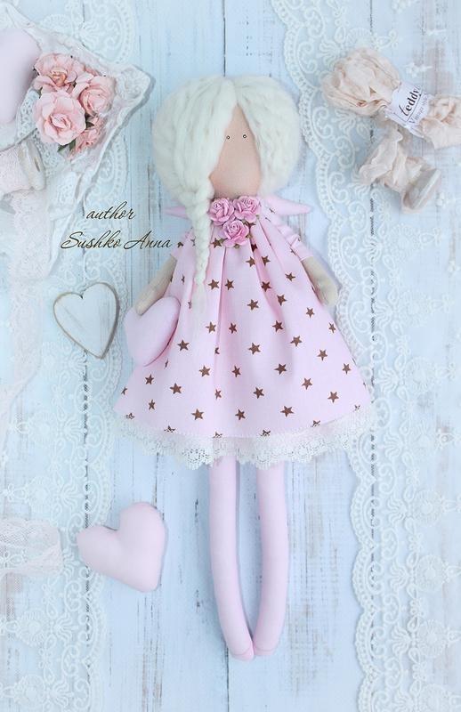 ангел кукла текстильная 009