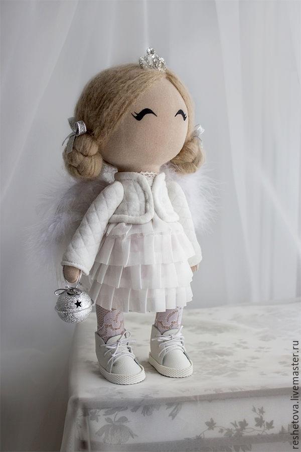 ангел кукла текстильная 010