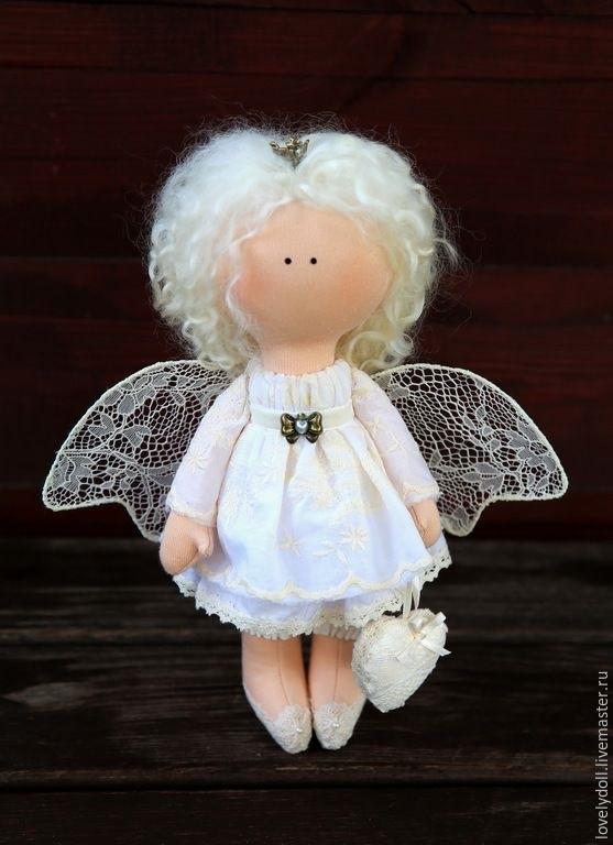 ангел кукла текстильная 011