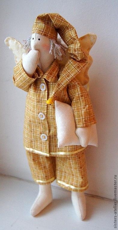ангел кукла текстильная 012