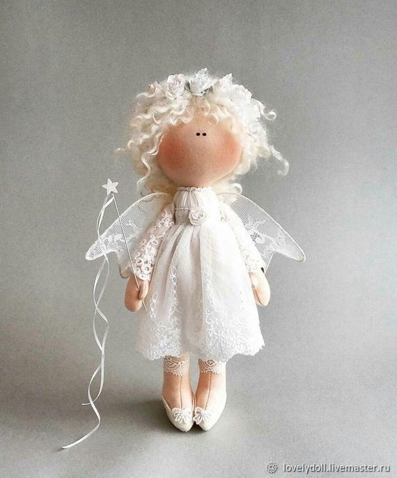 ангел кукла текстильная 013