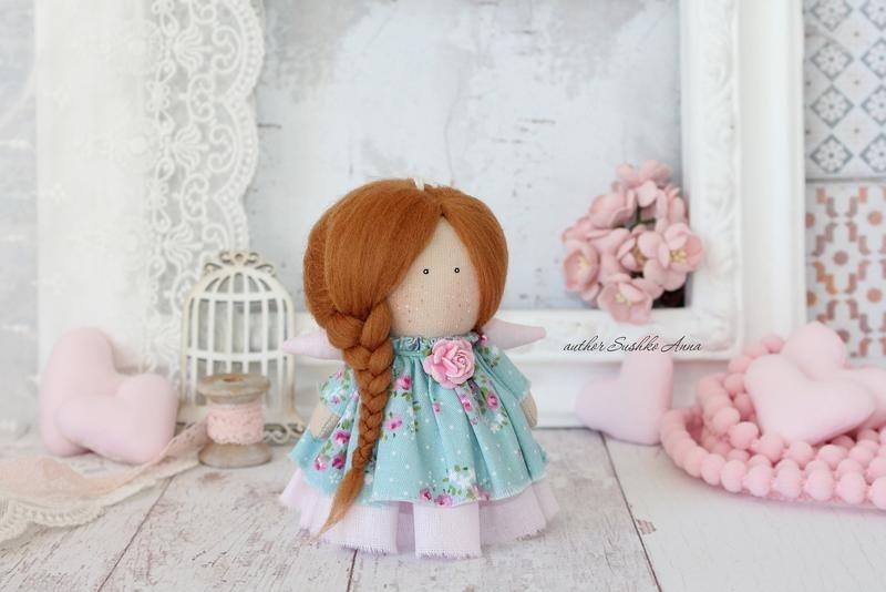 ангел кукла текстильная 014