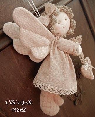 ангел кукла текстильная 017