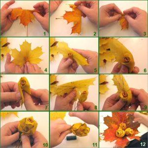 букет осенних листьев картинки 021