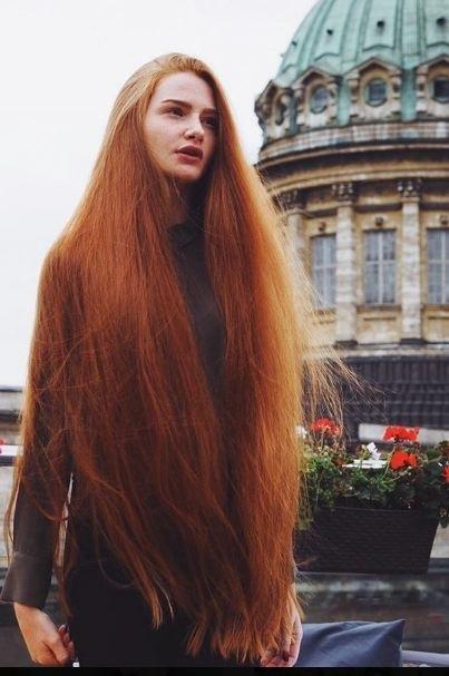 волосы каре рыжие девушки 009