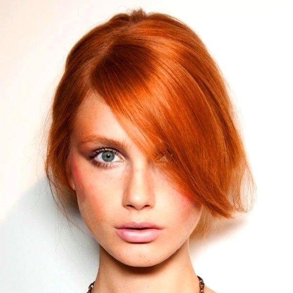 волосы каре рыжие девушки 013