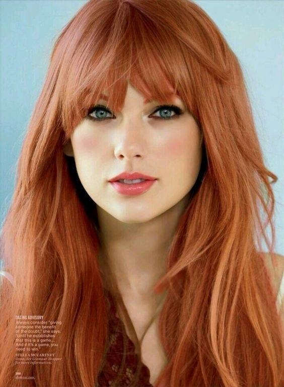 волосы каре рыжие девушки 015