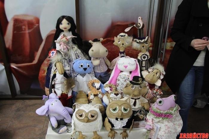 грунтованный текстиль куклы 011