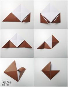 закладки оригами для книг схемы поделки 021