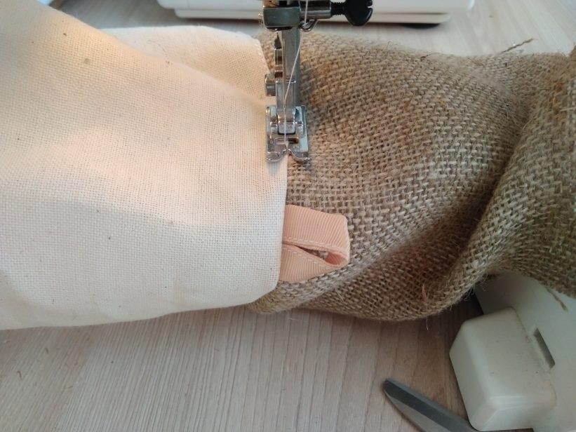 как сшить коробку из ткани своими руками 018