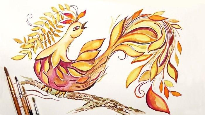 картинка жар птица для детей 012