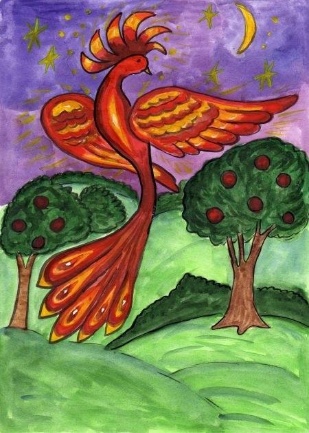 картинка жар птица для детей 013