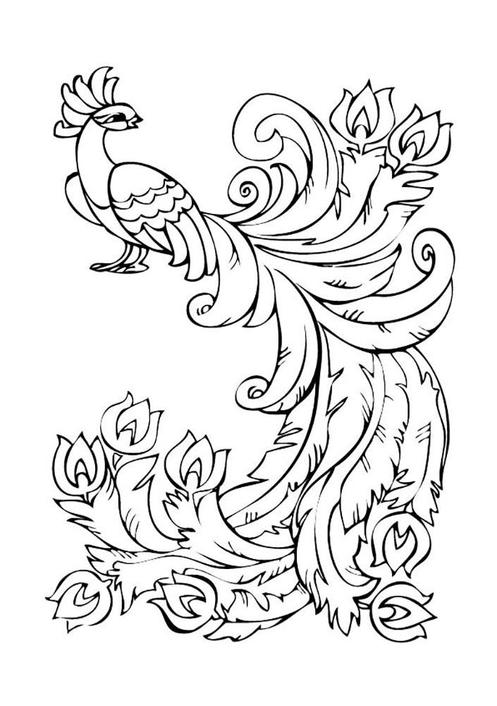 картинка жар птица для детей 021