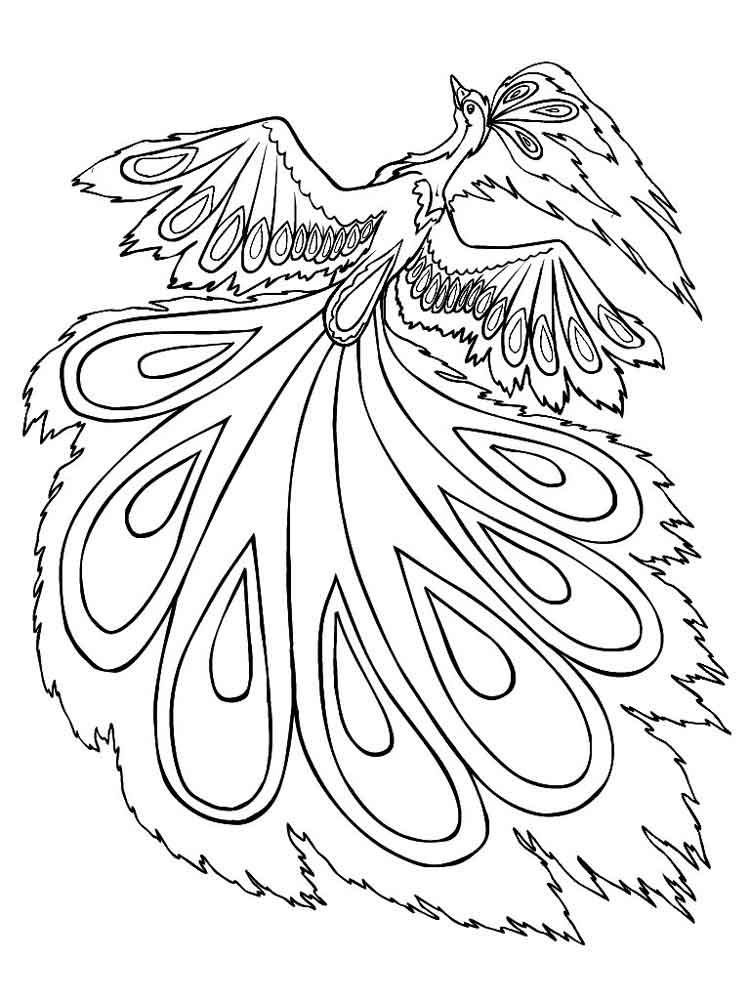 картинка жар птица для детей 023