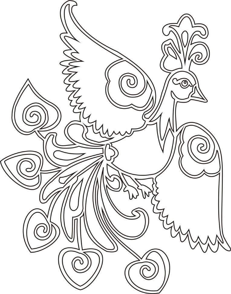картинка жар птица для детей 024