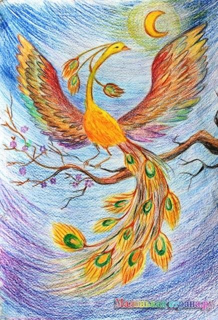 картинка жар птица для детей 025