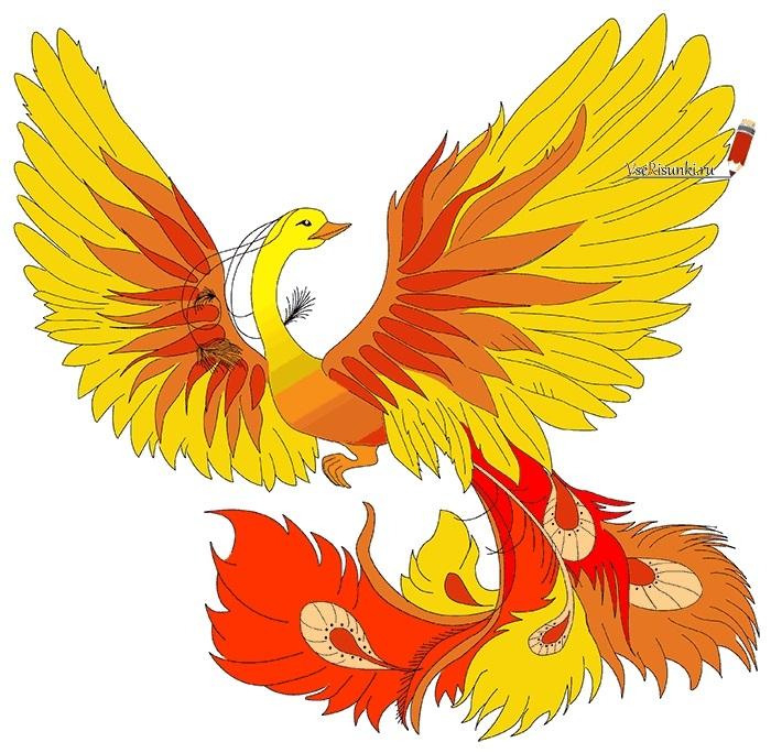 картинка жар птица для детей 026
