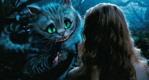 картинки алиса и чеширский кот 005