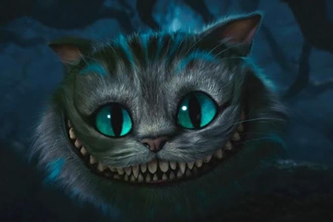 картинки алиса и чеширский кот 008