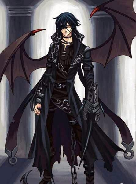 картинки демонов аниме парней 001