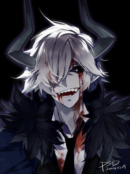 картинки демонов аниме парней 005