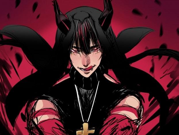 картинки демонов аниме парней 012