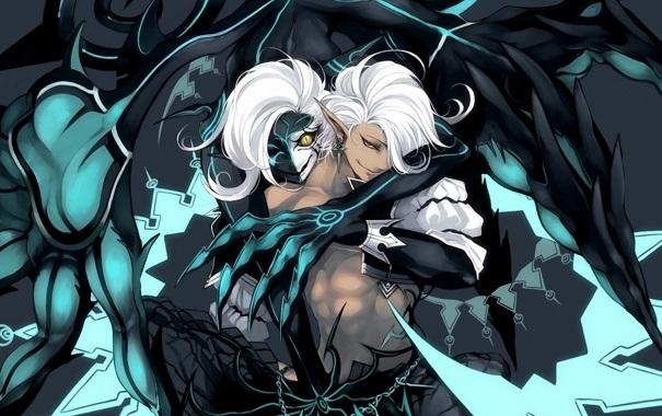 картинки демонов аниме парней 016